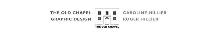 The Old Chapel Graphic Design